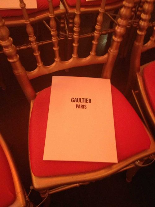 Gaultier invite