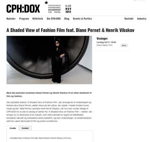 CPH DOX 2012  A Shaded View of Fashion Film feat. Diane Pernet   Henrik Vibskov copy