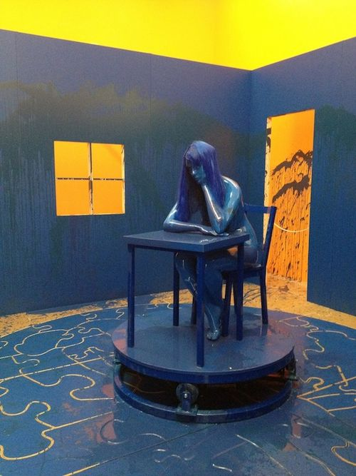 IMG_1721.jpg Richard Jackson.The Blue Room.2011