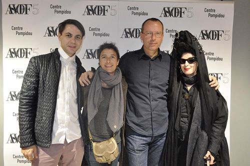 David herman, geraldine gomez and Baptiste Coutureau