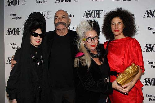 Emanuel Levy, ORLAN and Jessica Mitrani