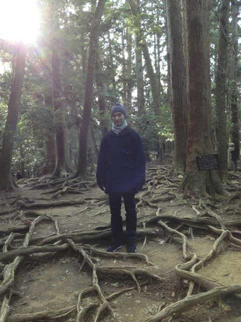 Shoji in the woods