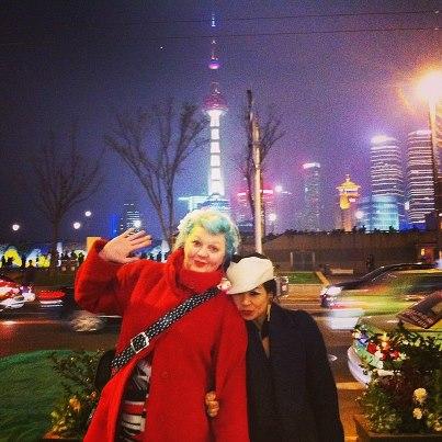 Natacha and Mei Hui Shanghai