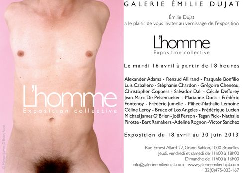 LHOMME Exposition collective