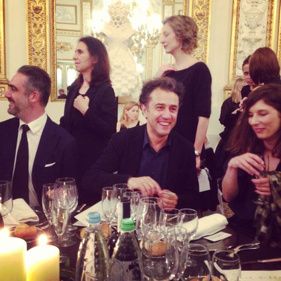More from the celebration dinner for EuropeNa chez Polimoda with Linda loppa