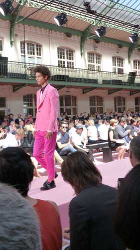 Paul Smith pink suit