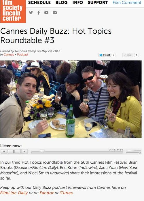 Cannes round table