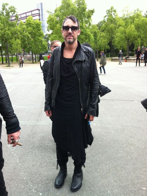 Rick owens street looks paris men's fashion week ss20147