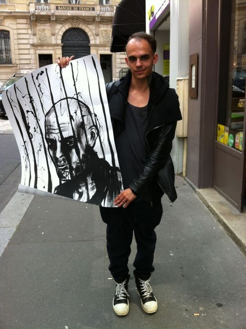 Rick owens street looks paris men's fashion week ss20149