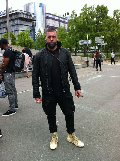 Rick owens street looks paris men's fashion week ss20146