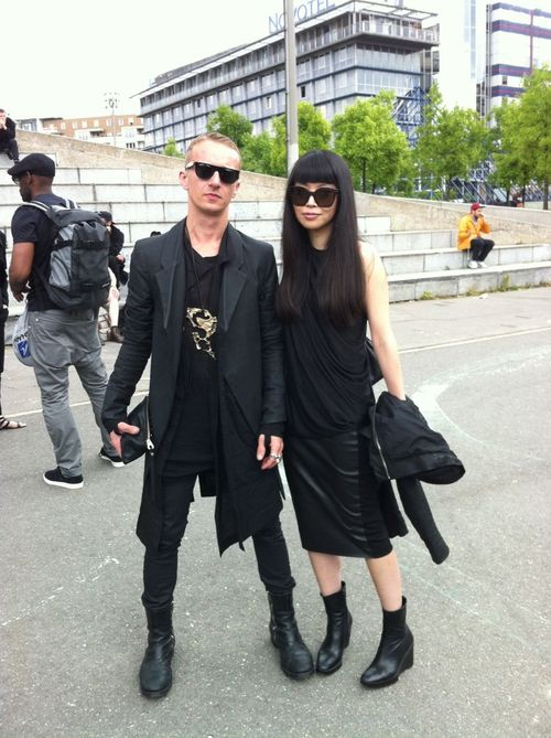 Rick owens street looks paris men's fashion week ss20148
