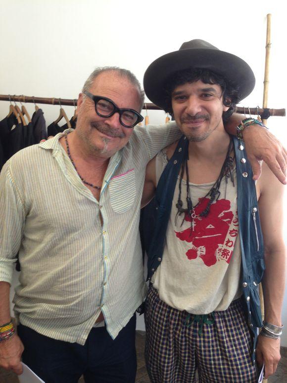 Lorenzo at graham Tabor and Miguel Villalobos  1 -100 showroom