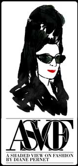 Diane, a Shaded View on Fashion :  paris diane pernet fashion view
