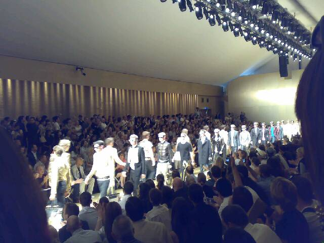 Burberry show in Milan