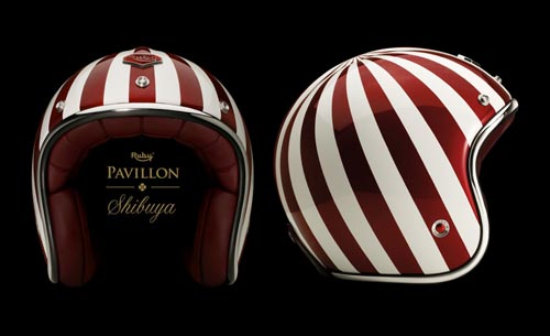 Ruby The Haute Couture Of Motorcycle Helmets Made In